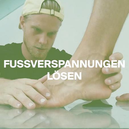 Fußverspannungen lösen