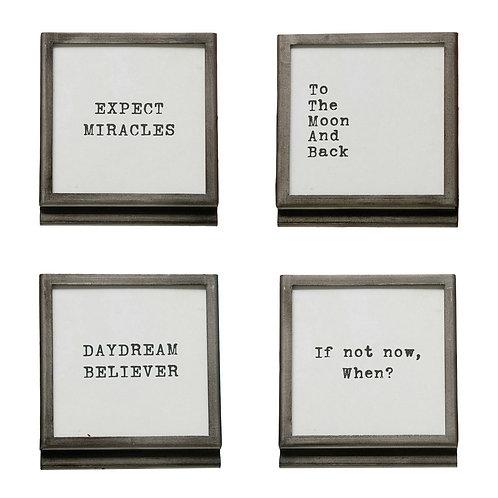 Mini Quote Frame
