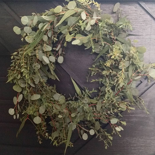 Fresh Eucalyptus Wreath
