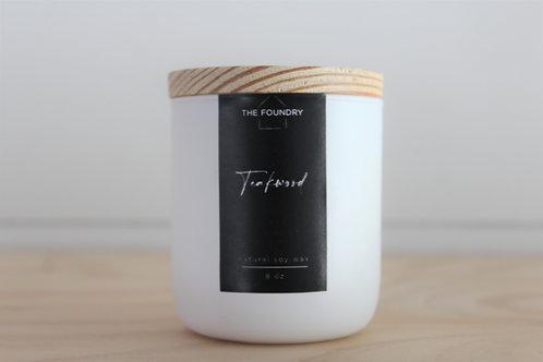 Teakwood Candle