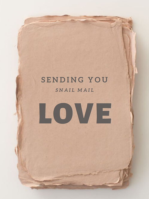 Snail Mail Love