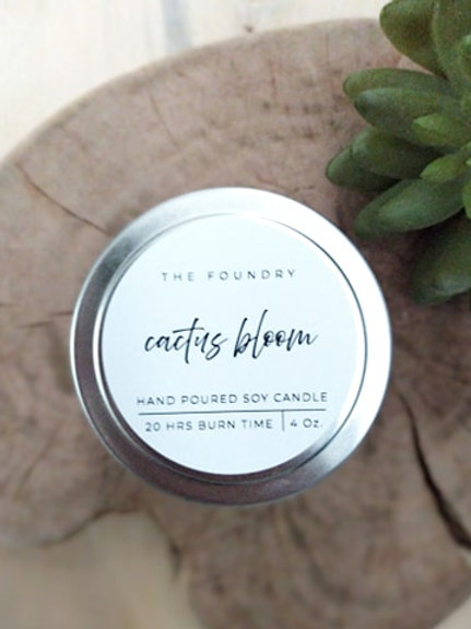 Cactus Bloom Candle