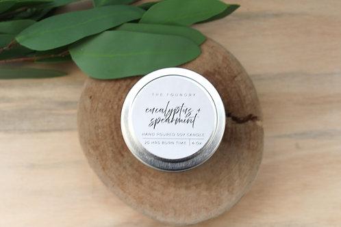 Eucalyptus + Spearmint Candle