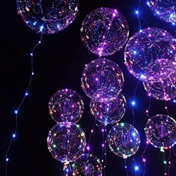 Light UP Bubble Balloons