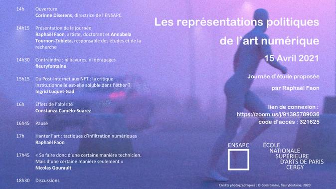Les représentations politiques de l'art numérique