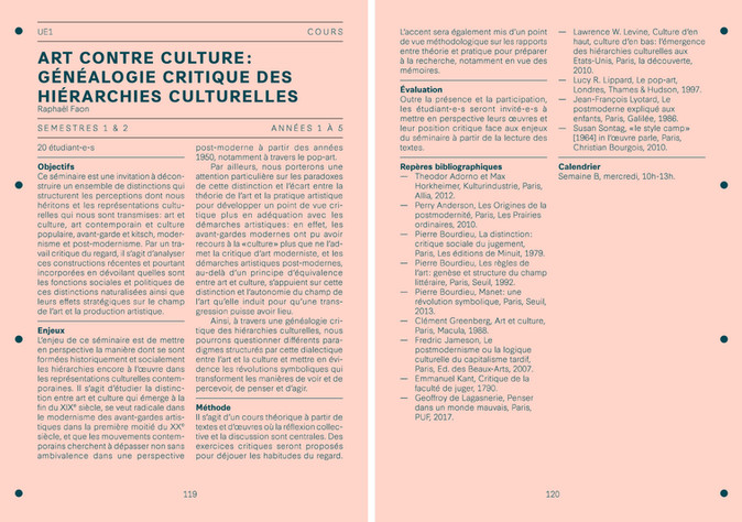 art contre culture : généalogie critique des hiérarchies culturelles