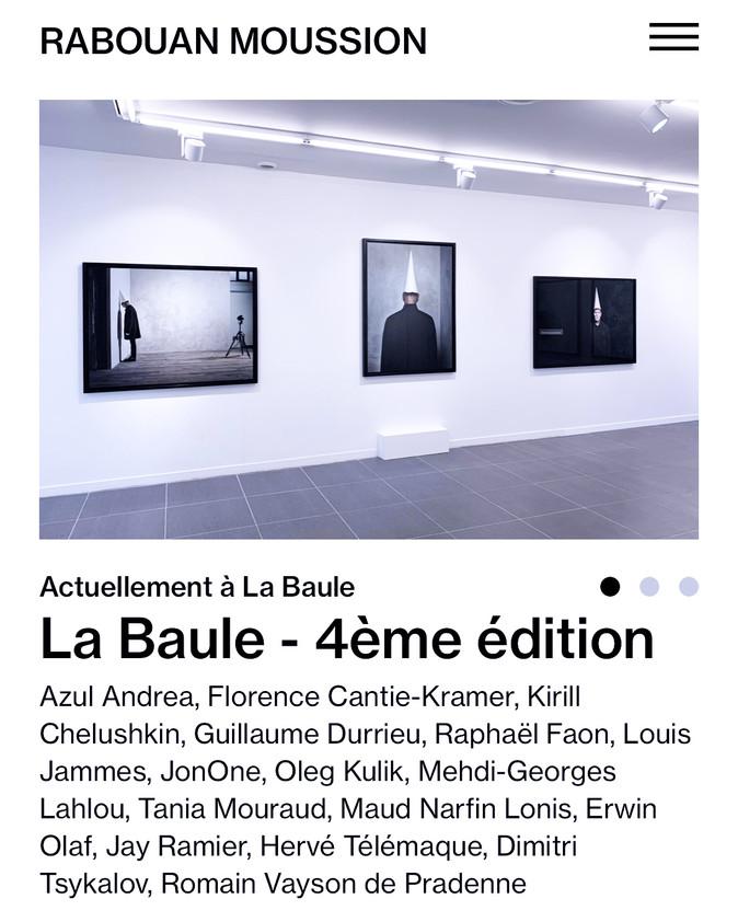 La Baule - galerie Rabouan-Moussion
