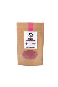Betabel orgánico en polvo 100g