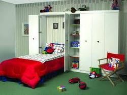 Children's Room Murphy Bed Design