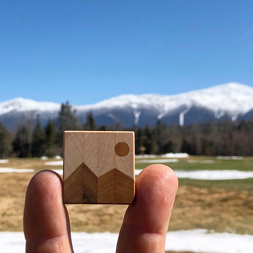 Mountain Scene Magnets