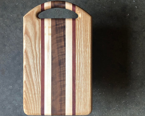 Serving Board - Ash + Mixed Hardwoods