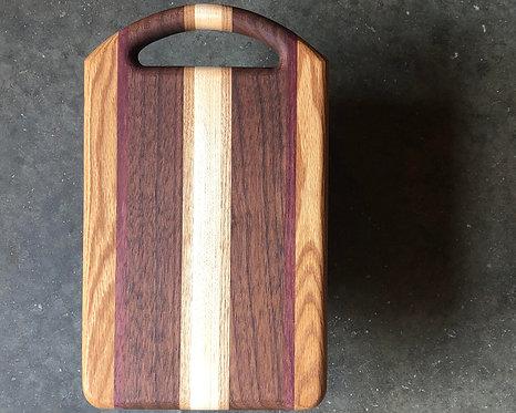 Serving Board - Walnut + Mixed Hardwoods