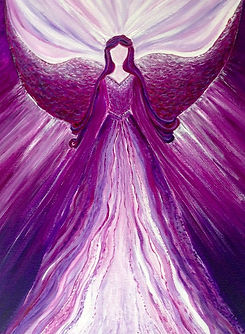 amethyst-angel-healing-angel-art-at-etsy