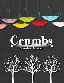 Crumbs logo and Umbrellas profile