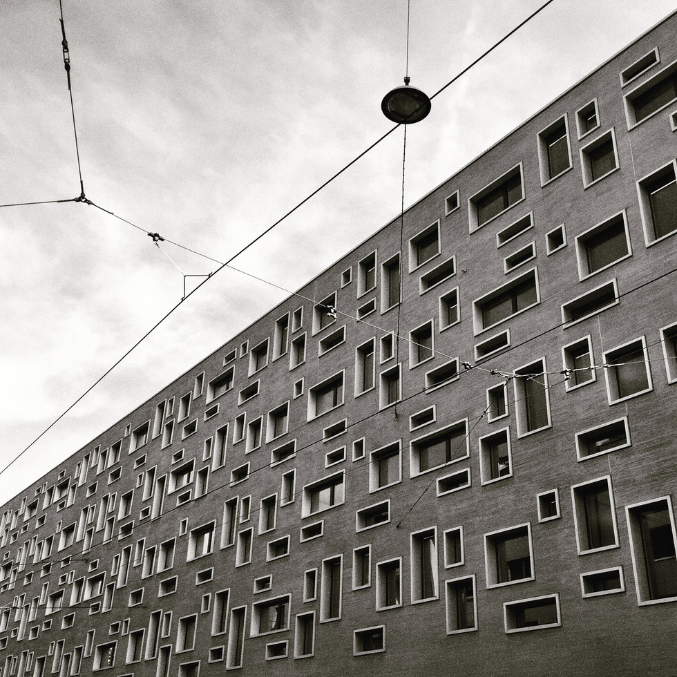 Swiss Cheese Building