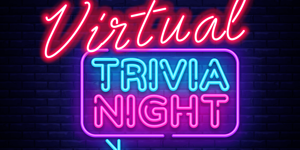 Charity Fundraiser:  Virtual Trival Night