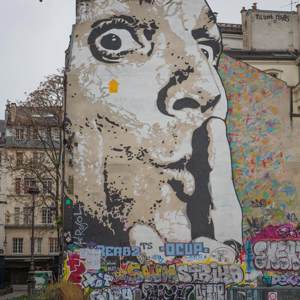 Parisian Grafitti
