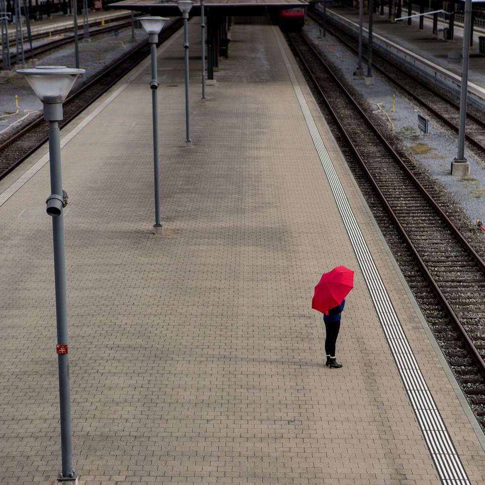 Waiting on a Platform