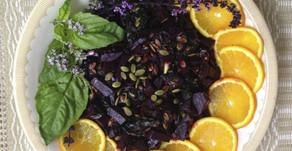Beet Salad With Pumpkin Seeds