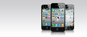 iPhones Smahed