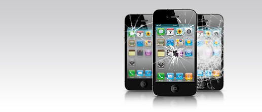 iphone tela trincada vidro trincado