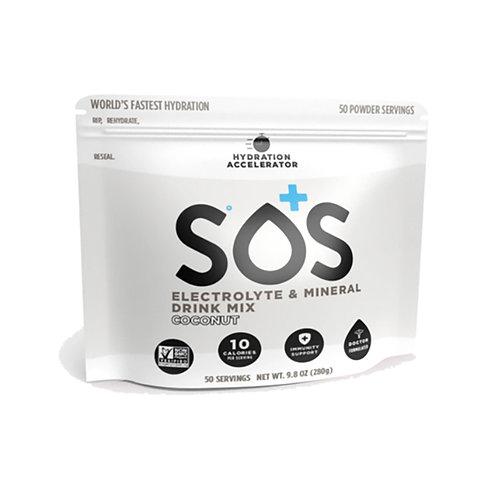 SOS Hydration Elektrolytenpoeder Kokos | Pouch-50