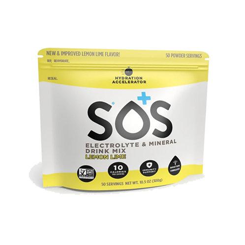 SOS Hydration Elektrolytenpoeder Citrus   Pouch-50