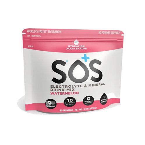 SOS Hydration Elektrolytenpoeder Watermeloen | Pouch-50