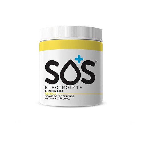 SOS Hydration Elektrolytenpoeder Citrus | Pot-50