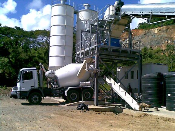 Studley Park, Tobago - Concrete Truck