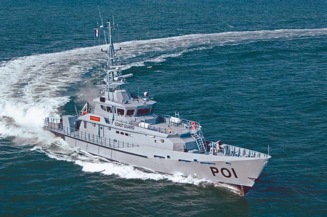 Barbados Coast Guard - SPA 4207, Trident