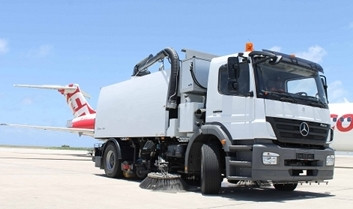 Barbados Airport Acquires New Sweeper