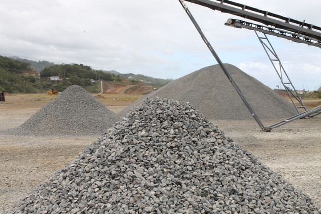 IADC, St. Vincent - Crushing Plant
