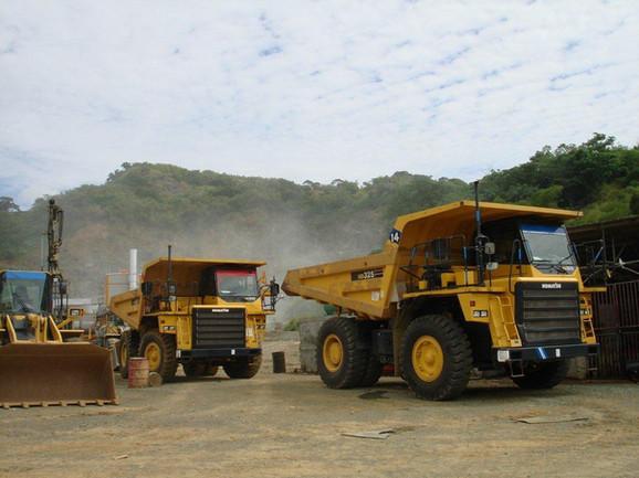 Studley Park, Tobago - Komatsu Dump Trucks