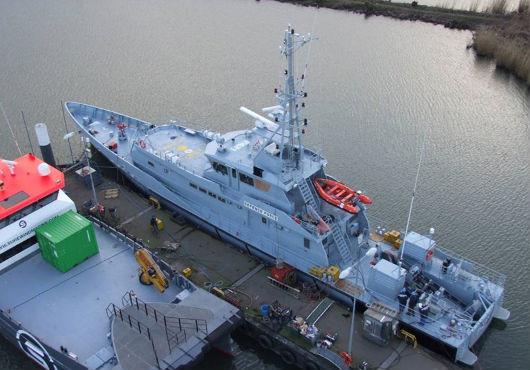 Bahamas Defence Force - Damen Stan Patrol Vessel 4207