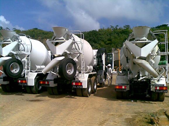 Studley Park, Tobago - Liebherr Mixer Trucks