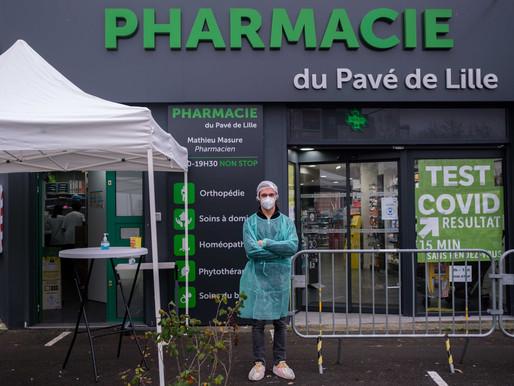 Les pharmacies en renfort face aux tests de dépistage de la Covid-19