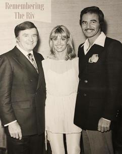 Mike Douglas, Olivia Newton-John & Burt Reynolds