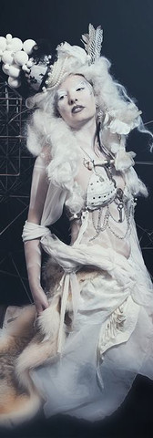 Model: Barbie Photographer & MUA: M3 Artistry Costume: Jalisa-Ocean Hair: Dani Barnes Taxidermy: Ramshackle Set: Peter Booth