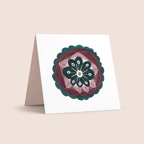 Evergreens Greeting Card