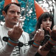 Dunce Hats - Todd & Amanda