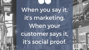 Social Proof - The Best Way For New Readers To Learn About You.