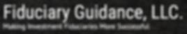 Fiduciary Guidance