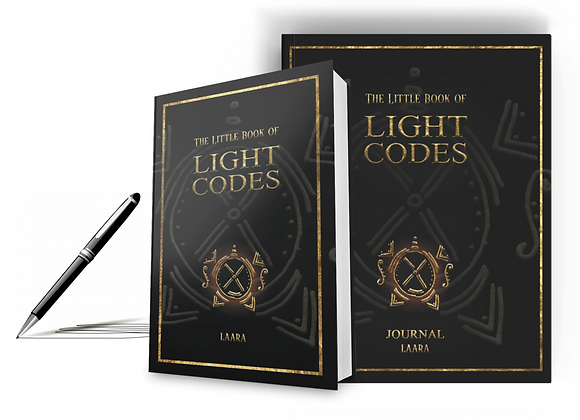 Signed Hardcover Copy and Journal of The Little Book of Light Codes