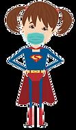 Stay Home Superhero Sister