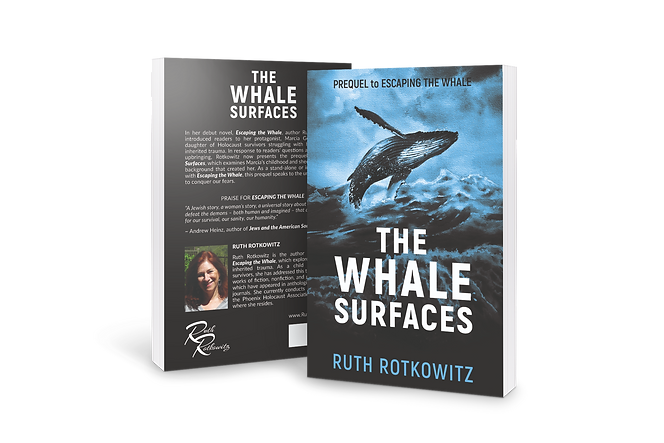 THE WHALE SURFACES