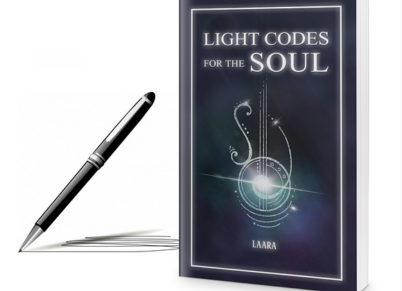 Signed Paperback Copy of Light Codes for the Soul