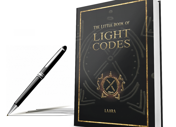Signed Hardcover Copy of The Little Book of Light Codes