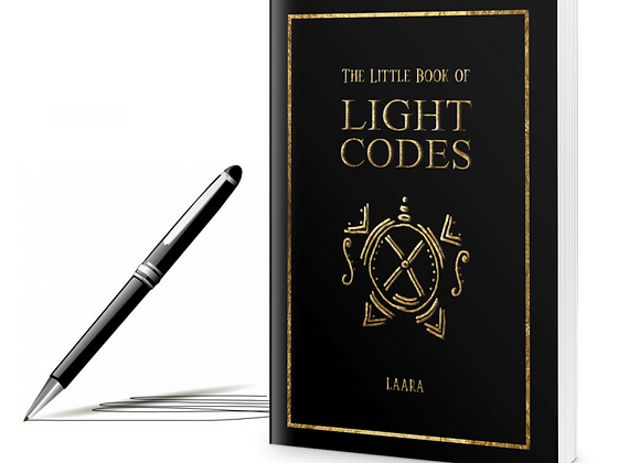 Signed Paperback Copy of The Little Book of Light Codes