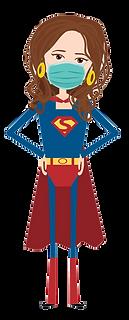 Stay home Superhero Mom